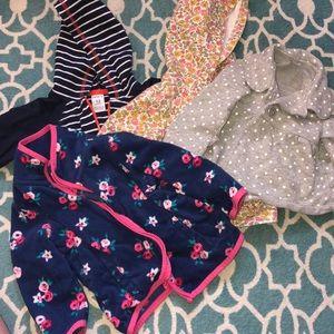 Baby girl 12 mo Carter's jackets